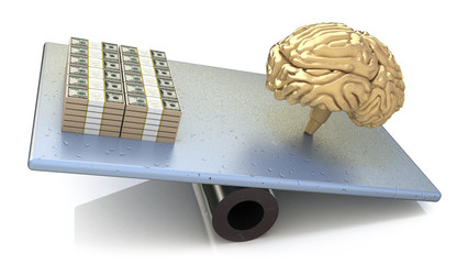 Brain price. intelligence outweighs the money