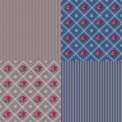 Vintage sweet pattern background