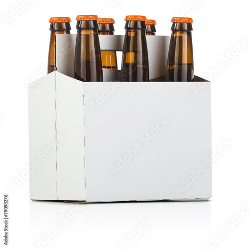 Aluminium Bier Six Pack of Beer