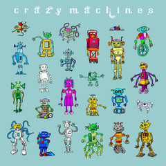 Сrazy machines