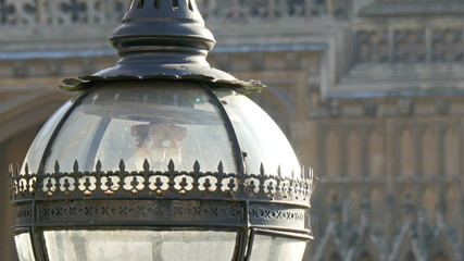 A red crown in one of the parts of the Big Ben