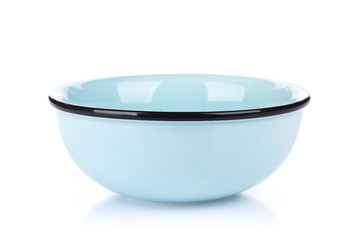 Empty clean bowl