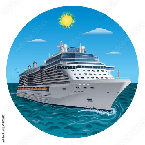 cruise ship - 79101692