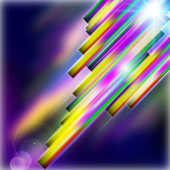 Abstract shiny technology straight lines  background.