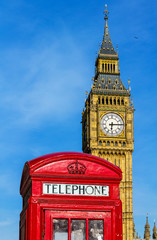 Telefonzelle, Big Ben, London