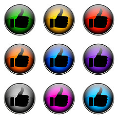 Button Color LIKE