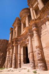 temple in Petra, Jordan