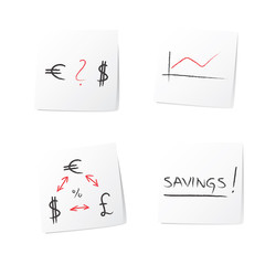 Abstract business money currency background
