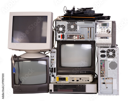 Old, used and obsolete electronic equipment - 79107030