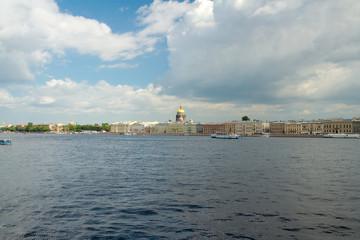 Angliyskaya Embankment, Saint Petersburg, Russia