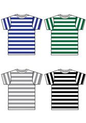 basic stripes tees for men and boys
