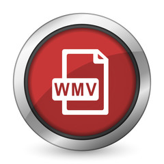 wmv file red icon