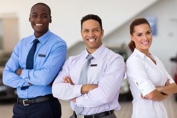 car sales staff