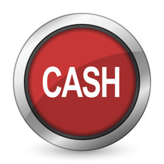 cash red icon