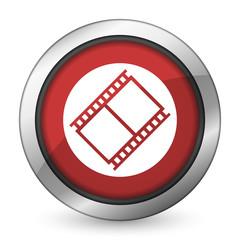 film red icon movie sign cinema symbol