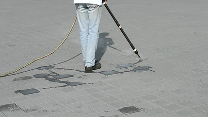 street cleaning, environment details