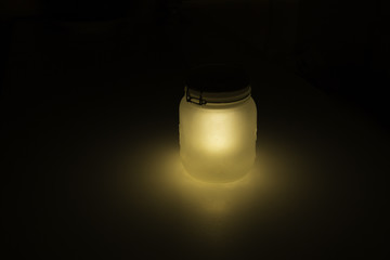 Glowing Jar