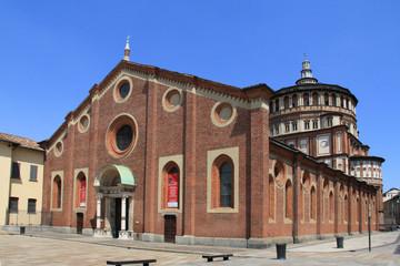Milano: chiesa di Santa Maria delle Grazie