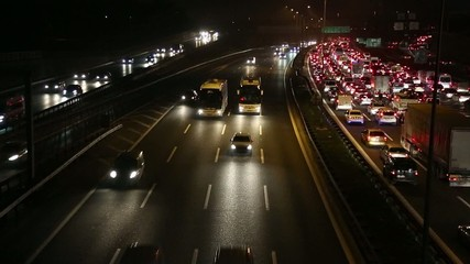 Traffic in Highway