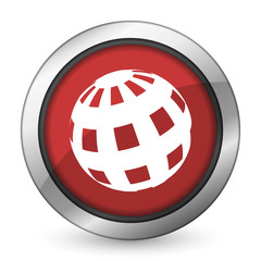 earth red icon
