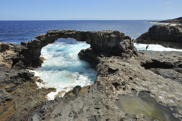 Natural Stone Arch,Canary Islands