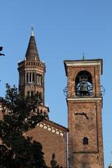 abbazia di Chiaravalle Milanese: campanile e torre