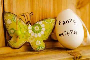 Frohe Ostern, Dekoration