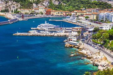 coast of Nice, south France