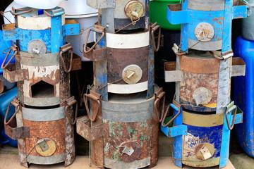 Hermetic metal packages. Panauti-Nepal. 1099