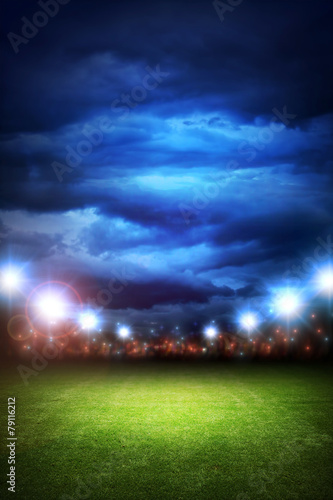 Foto op Canvas Stadion Soccer stadium