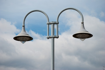 cup street lamp