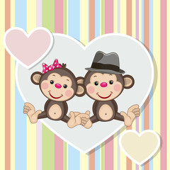 Two Monkeys