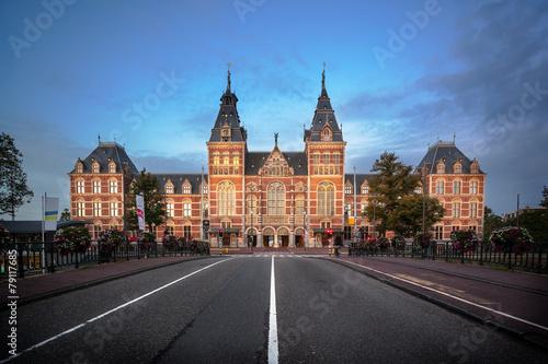 Fotobehang Amsterdam National Museum Amsterdam