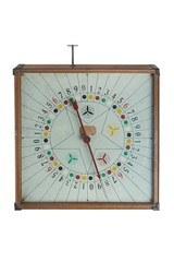 Old gamble spin clock