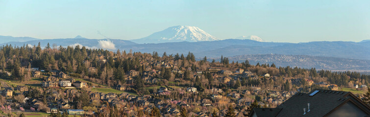 Happy Valley Homes with Mountain View in Oregon