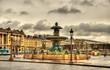 Fontaine des Fleuves on the Place de la Concorde in Paris