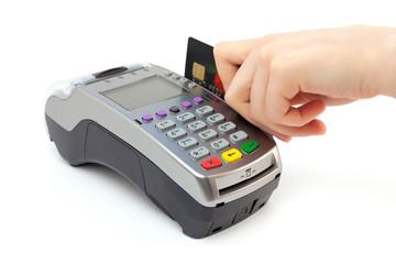 Using bank terminal