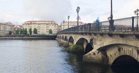 Bridge O Burgo in Pontevedra (Spain)