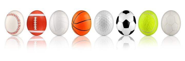 easter egg sport collection