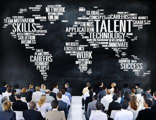 Talent Expertise Genius Skills Professional Concept