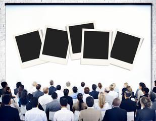 Polaroid Paper Instant Camera Photography Media Concept