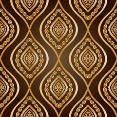 Gold damask