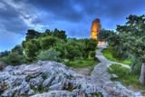 Monument of Filopappou (or Philopappou) in Athens Greece - 79123642