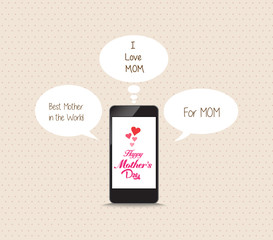message to mothers lovely frome cellphone