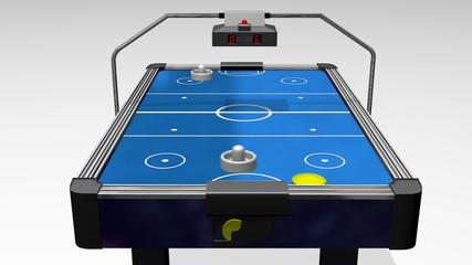 Air Hockey Table Animation