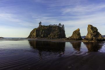 Ruby  Beach Reflection