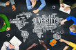 Diversity Ethnicity World Global Community Concept - 79126427