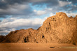 Fantastic mountains and clouds at sunset,, Egypt. - 79131066