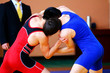 Greco-Roman wrestlers in competition - 79133075