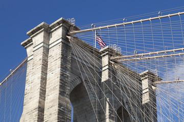 New York Brooklyn Bridge - detail